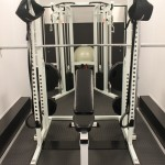 Smith Machine With Linear Bearings